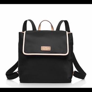 Kate spade nylon and leather backpack 12x11x5.5